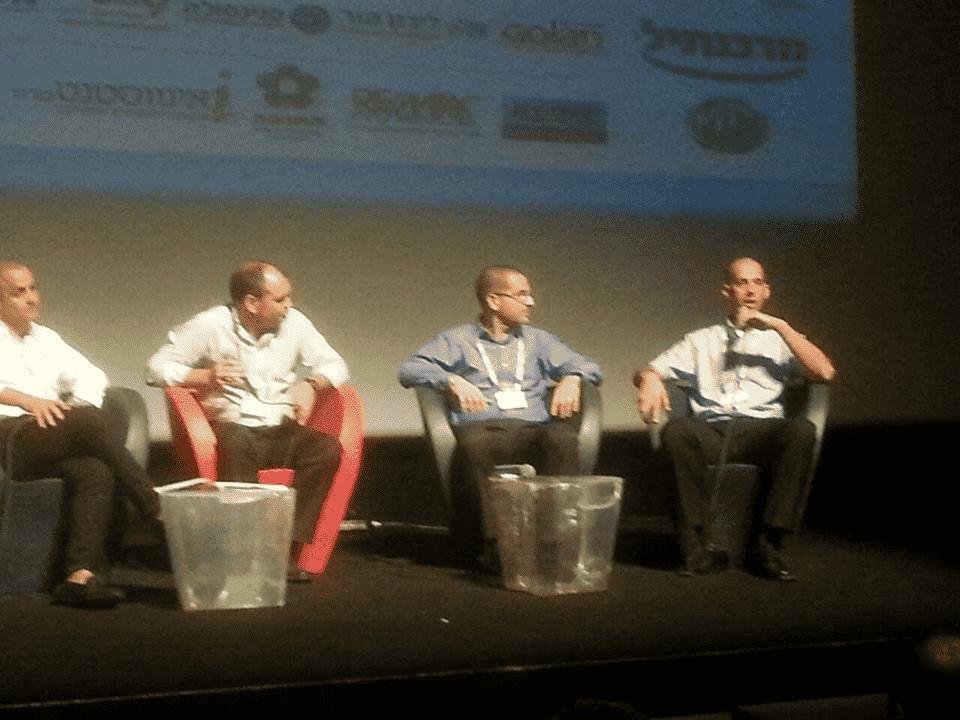 רותם זילברמן בפאנל בכנס חולון לעסקים קטנים