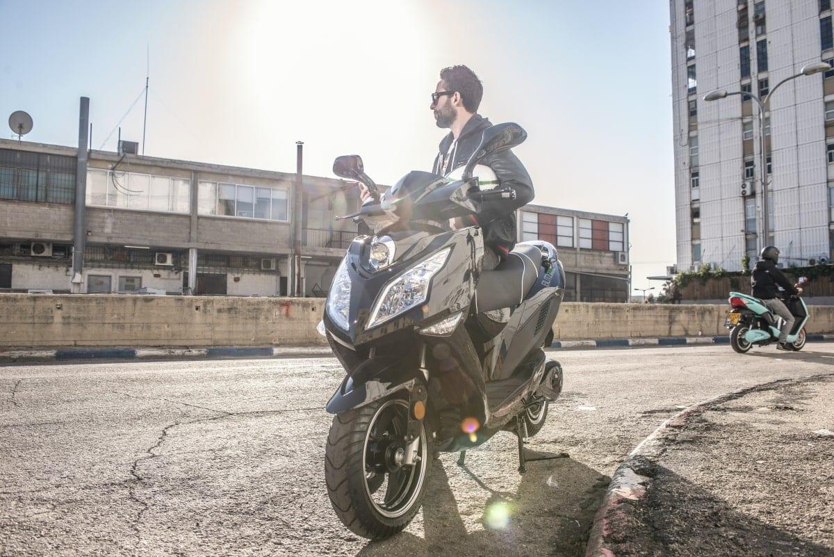 הקטנוע החשמלי של בליץ מוטורוס
