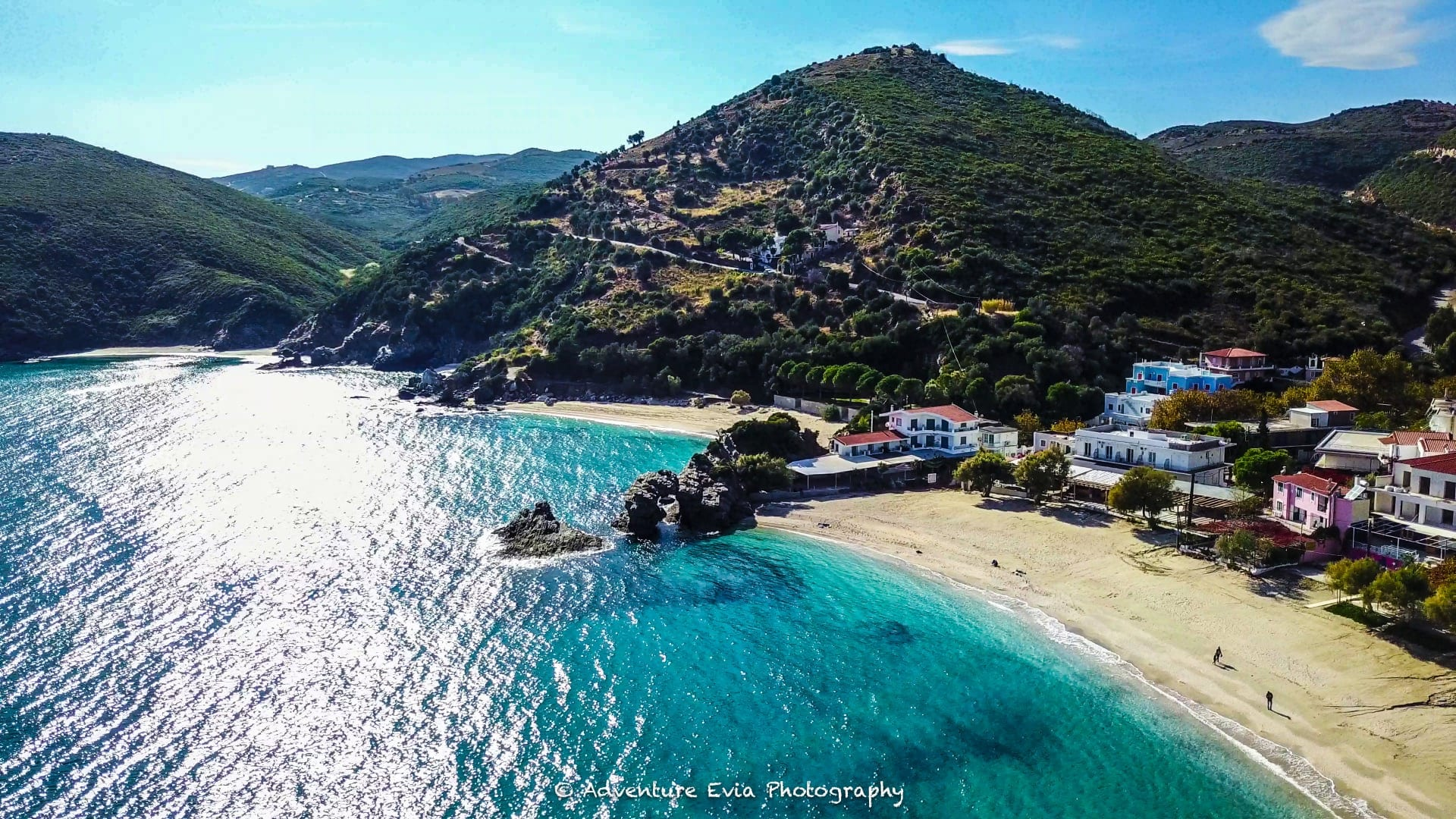 חצי האי אוויה ביוון