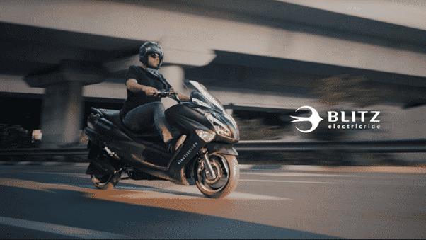 הקטנוע החשמלי של בליץ מוטורס
